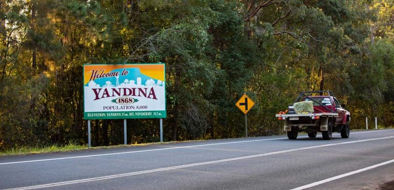 Welcome to Yandina