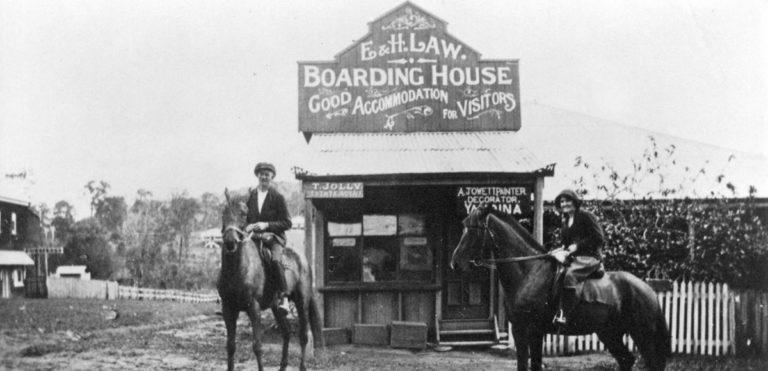 Yandina Boarding House circa 1920