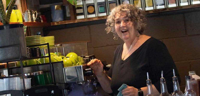 Kaye at Lawn Espresso