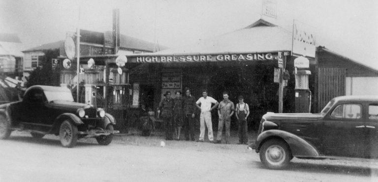 Granger's Garage Yandina 1940s