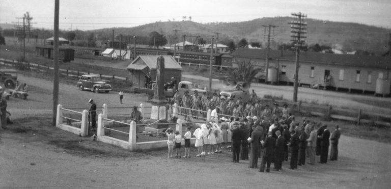 ANZAC Day Service Yandina 1940s