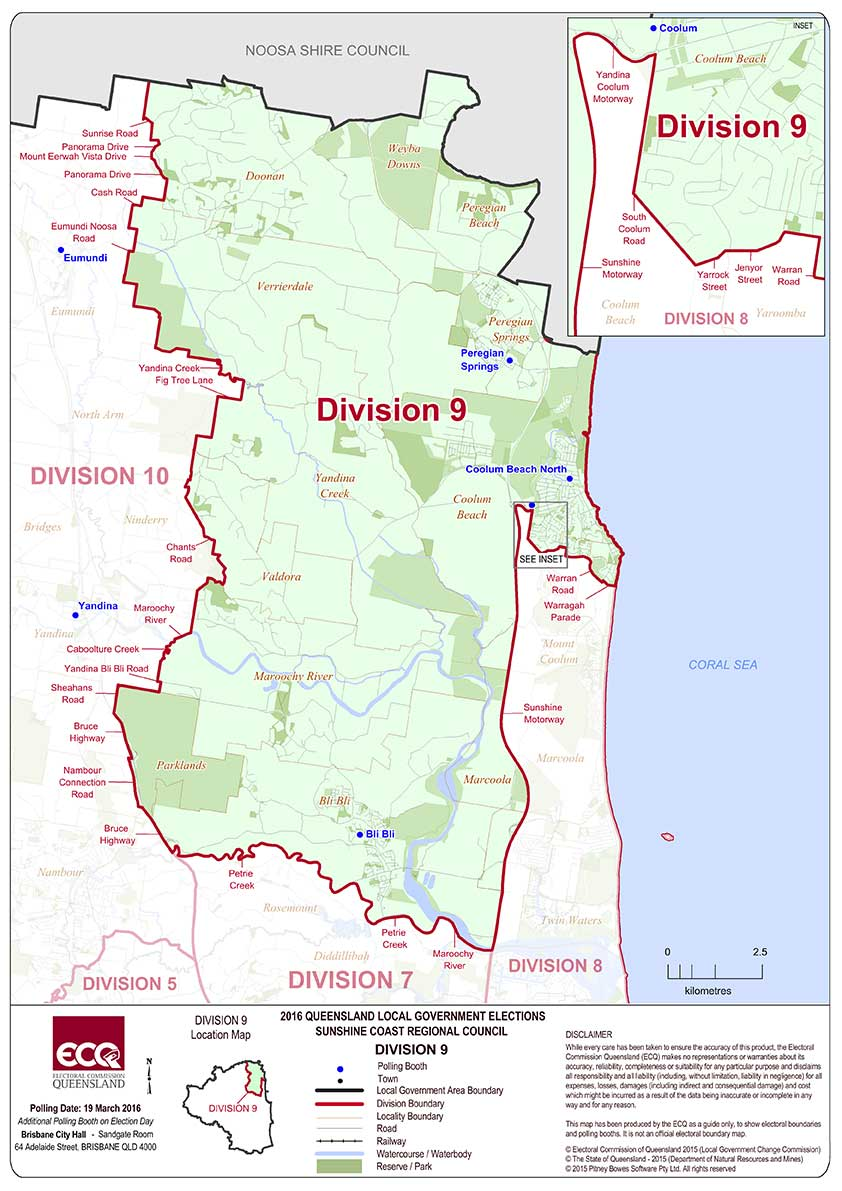 Sunshine Coast Regional Council Division 9