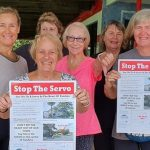SPEAK UP TO STOP THE SERVO